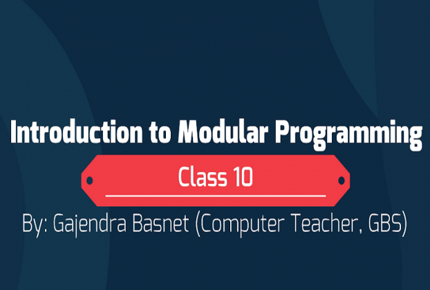 modular programming in qbasic