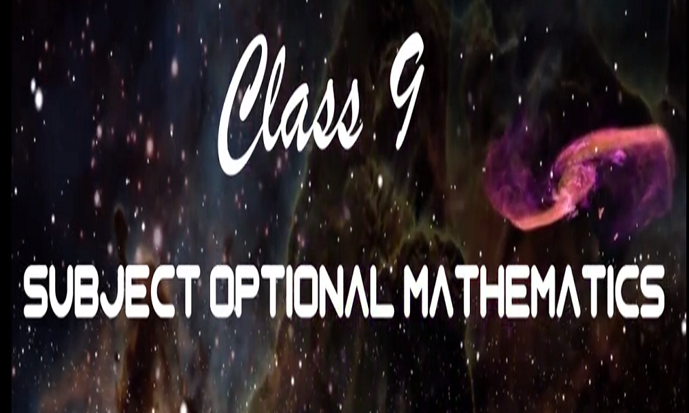Optional math grade 9